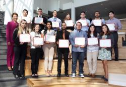 Honda, HSF Award Scholarships and Internships to Latino Students