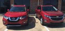 SUV Review: Chevy Equinox vs. Nissan Rogue